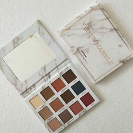 Wholesale Marbles Free Shipping - HOT 2017 new makeup venus marble 12 color eyeshadow palette  eyeshadow palettes ! DHL free shipping.