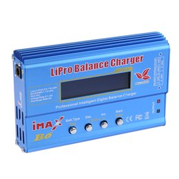 Wholesale Rc Battery Charger Nimh - New Arrival High Quality 80w iMAX B6 Lipro NiMh Li-ion Ni-Cd RC Battery Balance Digital Charger Discharger Free Shipping