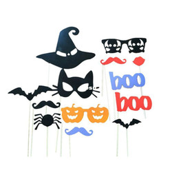 Wholesale Moustache Stick - Funny Product DIY Photo Booth Props Moustaches On A Stick Halloween Party