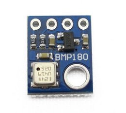 Wholesale Barometric Sensor - Wholesale-GY-68 hot-sale 1PC BMP180 Digital Barometric Pressure Sensor Board Module For Arduino Free Shipping