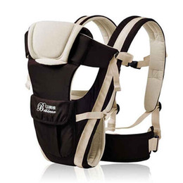 Wholesale Horizontal Baby Carrier - 4pcs\loy Breathable Multifunctional Front Facing Baby Carrier Infant Comfortable Sling Backpack Pouch Wrap Baby Kangaroo free shipping
