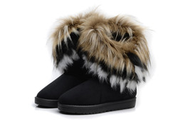 Wholesale Wholesale For Cowboy Boots - 2016 Brand New Winter Shoes Woman Platform Boots For Women Womens Girls Shoes Winter Ankle Boots High Knee Snow Boots,free shipping,wu