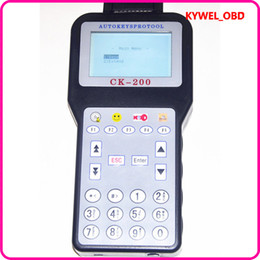 Wholesale Mazda Generations - 2015 New V38.03 CK-200 CK200 Auto Key Programmer No Tokens Limitation Newest Generation Updated Version of CK-100 DHL free shipping fast