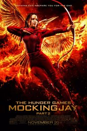 """Wholesale Hunger Games Movie Poster - the hunger games Movie Fabric poster 36"""" x 24"""" 20"""" x 13"""" Decor --024"""