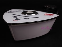 Wholesale Ultrasonic Cellulite - Nice Portable mini 40K Ultrasonic Cellulite Ultrasound Cavitation Weight Loss face neck lifting home use beauty machine high quality