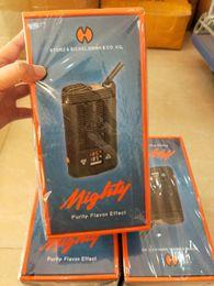 Wholesale Plastic Boxes Sale - hot sale V3 Mighty Dry herb vaporizer battery-powered Pocket-Vaporizer Temperatuer adjustable Mighty vaporizer Box Mod Big Vaporizer snoop