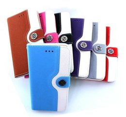 Wholesale Iphone 4s Fashion Wallet - 10pcs For Iphone 6 6 plus Cases Fashion Wallet Leather Case With Credit Card Holder Cover For Iphone 4 4s 5 5s 5c XY42