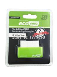 2019 trasporto libero di vci 2015 Nuovo arrivo EcoOBD2 Benzina Chip Tuning Box Plug and Drive Eco OBD2 Benzina Economy Chip Box Tuning