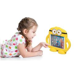 Wholesale Minion Mini - 3D Cartoon Minions Kids EVA Soft Thick Foam Cover Stand Holder for mini 1234
