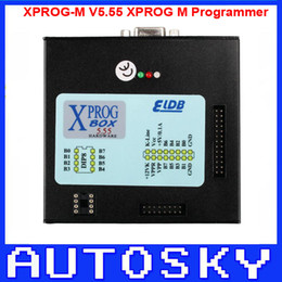 Wholesale Cas4 Programmer - XPROG-M V5.55 XPROG M Programmer with USB Dongle Especially for CAS4 Decryption XPROG M tool