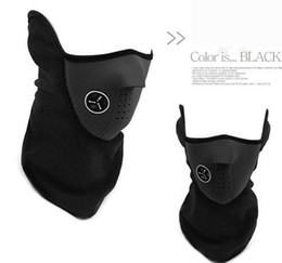 Wholesale Bikers Winter Mask - Wholesale-Neoprene Ski Snowboard Motorcycle Biker Winter Sport Face Mask Neck Warmer Veil