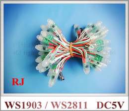 Wholesale Ws 2811 - waterproof IP66 WS 1903 digital magic LED pixel light module LED exposed light string advertising light (WS 2811 compatible)