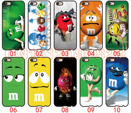 Wholesale Character Iphone 4s Cases - M&M Character For iPhone 6 6S 7 Plus SE 5 5S 5C 4S iPod Touch 5 For Samsung Galaxy S6 Edge S5 S4 S3 mini Note 5 4 3 phone cases