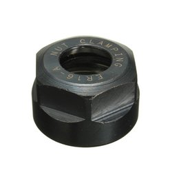 Wholesale Cnc Nut - New M Type ER16A CNC Milling Lathe Chuck Nut Clamping Head 40CR Industrial Production Equipment Mdustrial Production Equipment order<$18no t