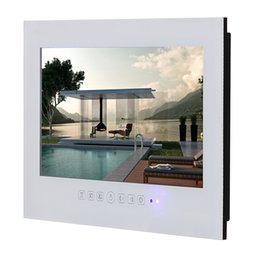 Wholesale Cheap Led Tvs - 15inch Electronic Screen dvb T2 S2 Waterproof LED LCD TV Android Smart Bathroom TV Screen China Cheap