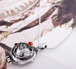 Wholesale Vampire Diaries Pendant - The Vampire Diary Valentine's Day Necklace Verbena Unisex Jewelry Wholesale Pendants Rushed Hot Zinc Alloy Slide Top Fashion