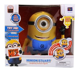 Wholesale Despicable Talking - Monocular Small yellow people God steal dads Hand do Despicable me 2 DespicableMe moving Will talk