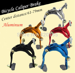 Wholesale Dual Pivot Caliper - Wholesale-Aluminum Bicycle Dual Pivot Caliper Brake Ultralight Quick Release Anodized Bicycle Accessories bicicleta