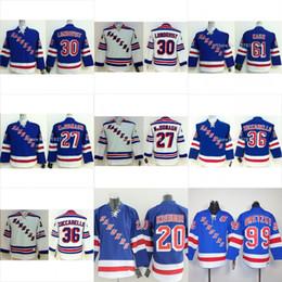 Wholesale Boys New York - Youth New York Rangers Hockey Jerseys #30 Henrik Lundqvist 36 Mats Zuccarello 61 Rick Nash Jersey NY Kids Royal Blue Boys Stitched Jersey