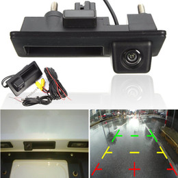 Wholesale Gps For Vw Golf - GPS Car Rear View Cameras Reversing Reverse Camera For VW  GOLF  JETTA  TIGUAN  RCD510  RNS315  RNS310  RNS510