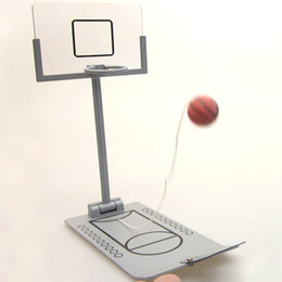 Wholesale Shooting Games Basketball - Mineature basketball game Hot sale desktop shooting toy Free shipping Basket ball table enthusiasts fans desk gift