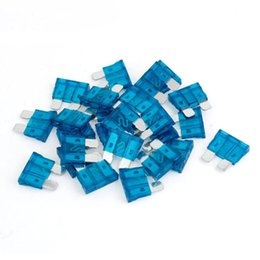Wholesale FS Hot A Auto Car Blue Plastic Coated Medium Safety Blade Fuses order lt no track