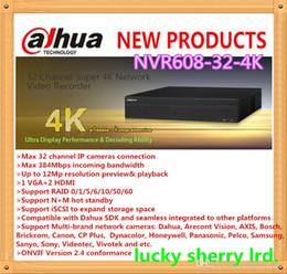 Wholesale 32 Channel Dvr Recorders - Dahua Super NVR 32 Channel Super 4K Network Video Recorder NVR608-32-4K
