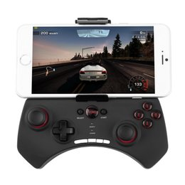 Wholesale Controller For Iphone - Wireless Bluetooth Game Gaming Controller Joystick Gamepad for Android   iOS cell phone iPhone Tablet PC SAMSUNG Iphone LG cellphone