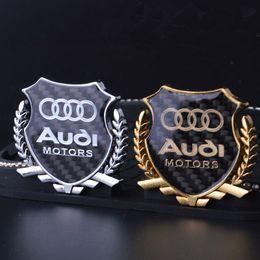 декаль Скидка 2шт уточнения 3D логотип эмблема значок графика наклейка наклейка автомобиля для Audi