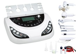 Wholesale Galvanic Salon Facial - 7 in 1 skin galvanic facial spa machine ultrasonic cosmetic device salon equipments