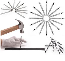 2019 herramienta de perforación de agujeros de cuero Nuevos hombres y mujeres de cuero perforado almohadillas de cinturón Agujero hueco de acero herramienta de mecanizado Punch Agujero Aguja rebajas herramienta de perforación de agujeros de cuero