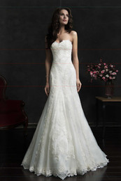 Wholesale Sweetheart Strapless Mermaid Wedding Dresses - 2015 Charming Mermaid Sweetheart Floor Length Tulle Wedding Dresses Bridal Gowns Long Backless Bridal Wedding Gown Dress