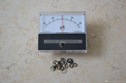 Wholesale Panel Analog Meter - 1PC Panel Meter SD-670-1(DC±50uA) 60x70mm DC ± 50uA Class 2.0 Center=0