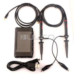 Canada Oscilloscope de stockage numérique DSO203 avec poche - Gros-ARM DS203 Nano Quad format poche + câble USB + sonde MCX Offre