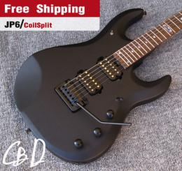 Wholesale Electric Guitar Matte Black - JP 6 Musicman Ernieball Electric Guitars,Matte Black,Music Man China Guitarras Musical Instruments,Freeshipping Guitare