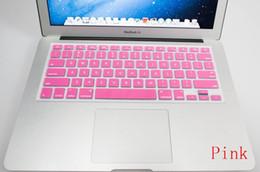 """comprimés de peau claire Promotion Housse clavier silicone pour Macbook Air Pro 13/15/17 """"peau ultra mince clavier protecteur clavier"""