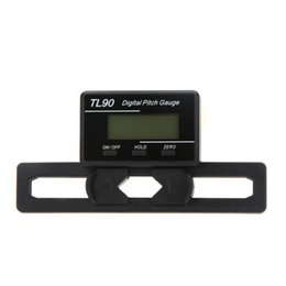 Wholesale Pitch Helicopter - Universal TL90 Digital Pitch Gauge For Flybarless RC Helicopter Repair Tool order<$18no track
