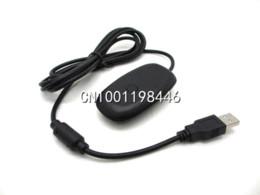 Xbox controller wireless para pc on-line-Para PC Sem Fio Controlador de Jogos Adaptador Receptor USB Para Microsoft para XBOX 360 receptor receptor xbox com entrada vga