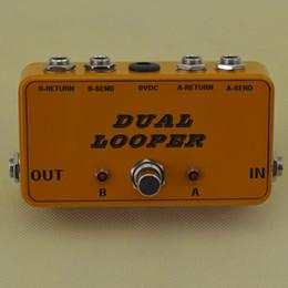 Nouveau 2 pédales Looper-Guitar Loop Board-True Bypass-Effects @ Livraison gratuite ? partir de fabricateur