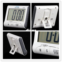 Wholesale Count Down Timer Clock - Fashion Hot LCD Digital Kitchen Timer Countdown Cooking Timer Count Down Alarm Clock
