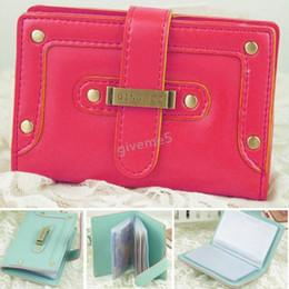 Wholesale Handbags Big Discount - Wholesale-Big Discount!!!Women's Men's Simple Style Casual Candy Color ID Card Bag Credit Card Bags Outdoor Handbag B12