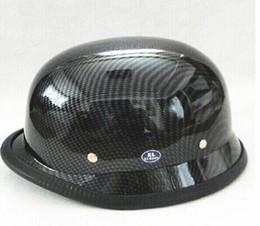 Мотоцикл шлем шлем шлем и электрическое покрытие AHP Галлей немецкий Stahlhelm Принц Галлей половина бесплатная доставка