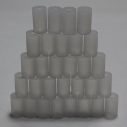 Wholesale Disposable Cover Caps - Clear color disposable silicone drip tip cap test tip cover transparent drip tip tester short mouthpiece vapor tester silicone cover for ego