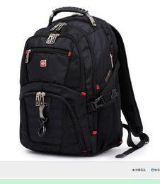 Wholesale Laptop Bags 15 - 15 Inches Brand Laptop Backpacks Men Notebook Computer Backpacks Travel Hiking Backpacks School Bag Men Women Backpacks Free shipping