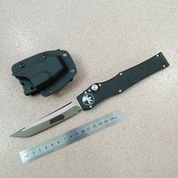 Wholesale cnc v - high quality micro halo V 5 white elmax blade tanto drop point Aluminum handle K sheath CNC 1pc