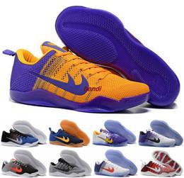 Wholesale Horse Cuts - Kobe Bryant 11 Elite Men Basketball Shoes Boot Kobe 11 11s Kobes Red Horse Oreo Sneakers KB 11 EP Run Sports Basket Ball Shoes Sneakers