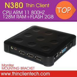 Wholesale Virtual Desktop - Wholesale-Network Terminal Thin PC Windows CE RDP Thin Client ARM Processor 800HZ,RAM 128M,FLASH 2GB,Virtual Desktop PC Station