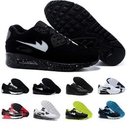 Wholesale Best Mints - Best Quality 2017 Lunar Control 4 Golf Shoes Medium Air Zoom 90 IT Sports shoes casual Shoes Men Women Sneakers Size US5-11