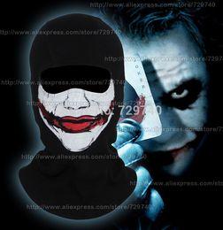 Toptan-Palyaço Thriller Balaclava Katil Korkunç Maskeleri Joker Jester Cadılar Bayramı Cosplay Kostüm Aksesuar Motosiklet Bisiklet Tam Yüz Maskesi nereden