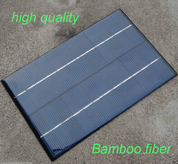 Wholesale HOT W V Mini Solar Cell Polycrystalline Solar Panel DIY Panel Solar Power V Battery Charger System